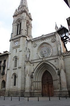 Basque Country, Bizkaia, Bilbao, Santiago Cathedral