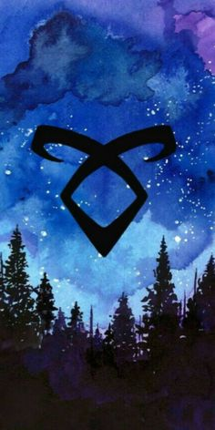 The rune for Angelic power Shadowhunters Malec, Shadowhunters The Mortal Instruments, Shadowhunter Tattoo, Mortal Instruments Wallpaper, Screen Wallpaper, Iphone Wallpaper, Wallpapers Tumblr, Clary And Jace, Cassandra Clare Books