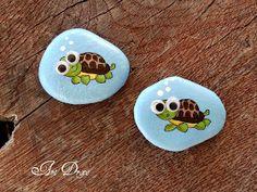 Pebble Painting, Painting Art, Story Stones, Rock Painting Designs, Rock Crafts, Summer Crafts, Stone Art, Sea Creatures, Rock Art