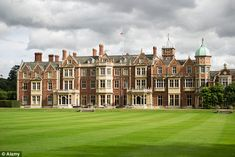 The Queen insisted that she would host the reception at Sandringham, pictured, following the ceremony
