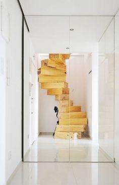 Wendeltreppe in Rzeszow von QC Architekten