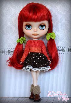 Custom Blythe Doll by ElDulceRincon on Etsy