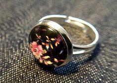 """Ringe - Cabochon-Ring """"Floral"""" - ein Designerstück von Soulmate-Works bei DaWanda"""