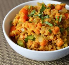 I was recently introduced to Dahl...delicious! I am looking forward to trying this recipe!