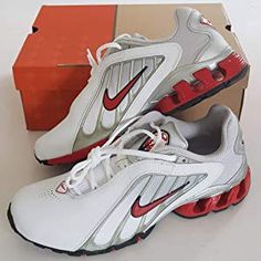 b501a418f5d Nike IMPAX KWIKN Trainers Shoes White Red Black Metallic Silver Original  2005 UK