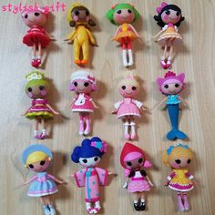 8.99$  Buy now - http://alil8p.shopchina.info/go.php?t=32748747873 - NEW ORIGINAL Mini Lalaloopsy dolls button eyes figures Princess Small red hat Cinderella Mermaid Kimono girls cut toys 8.99$ #magazine