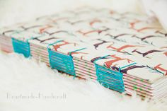 Notebook / Coptic bookbinding / Journal The by HeartmadeHandicraft