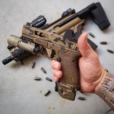Airsoft hub is a social network that connects people with a passion for airsoft. Talk about the latest airsoft guns, tactical gear or simply share with others on this network Custom Glock, Custom Guns, Edc Tactical, Gun Art, Best Hunting Knives, Cool Guns, Guns And Ammo, Firearms, Shotguns