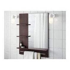 IKEA offers everything from living room furniture to mattresses and bedroom furniture so that you can design your life at home. Check out our furniture and home furnishings! Glass Shelves In Bathroom, Ikea, Open Shelving, Bathrooms Remodel, Shelves, Bathroom Design, Dressing Table Glass, Home Furnishings, Affordable Furniture