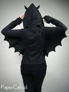 This Bat Hoodie Actually Turns Your Arms Into Wings