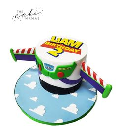 Toy Story Inspired Second Birthday Cake! Call or email to order your celebration cake today. Click visit to learn more. Second Birthday Cakes, 2nd Birthday Party Themes, Disney Themed Cakes, Toy Story Cakes, Cakes Today, Cupcake Wars, Celebration Cakes, Disney Inspired, Custom Cakes