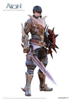 aion character_elyos male templar