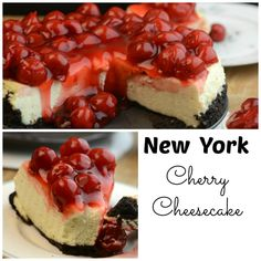 NY Cherry Cheesecake made with Ricotta cheese. Made in your Instant Pot or Pressure cooker. Makes the Creamiest cheesecake you will ever eat.
