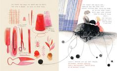 Cloth lullaby: the woven life of Louise Bourgeois, Amy Novesky and Isabelle… Louise Bourgeois, Laurent Moreau, Amy, Book Sites, Children's Book Illustration, Trees To Plant, Textile Art, Childrens Books, Illustrators