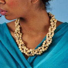 Greenola Style Princessa Cream Necklace $12