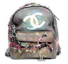 ba1b563ca7bb 100% AUTHENTIC CHANEL ART SCHOOL GRAFFITI BACKPACK BAG LE BOY SS  14  PREORDER Chanel