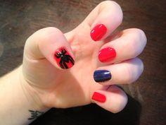 Spiderman nails!!