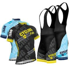 Fdx mens pro cycling #jersey half sleeve bike team #racing top + bib #shorts set ,  View more on the LINK: 	http://www.zeppy.io/product/gb/2/182096446608/