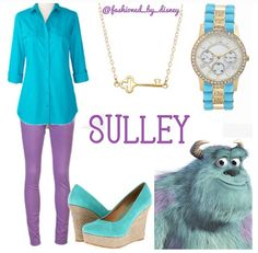 Sulley :) disney outfits :)