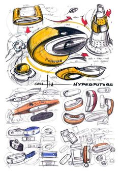 20190318 Portfolio Design Layouts, Sketch Design, Ad Design, Logos Retro, Industrial Design Sketch, Sketch Markers, Sketch Inspiration, Machine Design, Technical Drawing