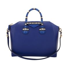 This gorgeous burst of blue is seriously worth every penny. // Ayers-Accented Medium Antigona Duffel by Givenchy