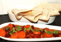 Karí z mrkvy a červenej repy (fotorecept) - Recept