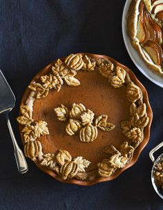 The ultimate holiday dessert: classic pumpkin pie! Get more recipe inspiration from our Thanksgiving Brochure: http://www.williams-sonoma.com/thanksgiving2015