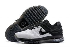 low priced 5deb3 b9352 Mens Nike Air Max 2017 KPU Running Shoes Whtie Black 849560 702