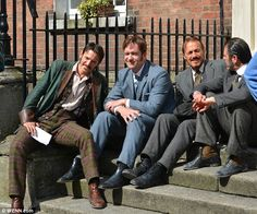 The boys are back: Matthew Macfadyen and Jerome Flynn begin filming grisly scenes for Ripper Street series two  Read more: http://www.dailymail.co.uk/tvshowbiz/article-2328931/Matthew-Macfadyen-Jerome-Flynn-begin-filming-grisly-scenes-Ripper-Street-series-two.html#ixzz2UDm1k8Vz Follow us: @MailOnline on Twitter | DailyMail on Facebook