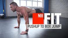 Pushup To Box Jump
