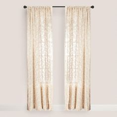 One of my favorite discoveries at WorldMarket.com: Sand Serene Curtain