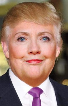 """Hilary Trump, THIS IS THE ENEMY OF DEMOCRACY, kabuki theater for the pretense of an election.  If you think it will matter if one of these monsters wins, think again, you are completely under the spell of corporate fascism!  One monster is just as bad as the other, but the choice has already been made for you, so no worries, sheeple.  Hillary has already """"won""""!"""