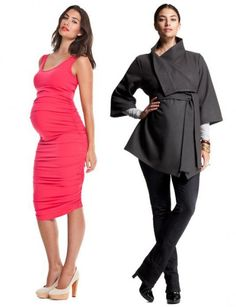 For those wanting to dress up their baby bump this winter