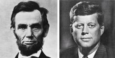 Abraham Lincoln was elected to Congress in 1846. John F. Kennedy was elected to Congress in 1946. Abraham Lincoln was elected President in 1860.. John F. Kennedy was elected President in 1960.. Both were particularly concerned with civil rights. Both wives lost their children while living in the White House. Both Presidents were shot on a Friday. Both Presidents were shot in the head. Now it gets really weird. Lincoln's secretary was named Kennedy. Kennedy's Secretary was named Lincoln