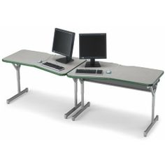 "30""D x 48""W x 22""-30""H Flexline Leonardo! Left Hand Workstation - Maple Top/Champagne Edge/Champagne Frame by Smith System. $303.66. Flexline Leonardo!'s angled top in left and right hand models allows great classroom layouts with good sightlines. Use Leonardo! to form rows or back-to-back layouts; the unique top shape allows students to focus on both the computer and the instructor.::Leonardo! legs adjust from 22"" to 30"" high in 1"" increments to accommodate all ages an..."