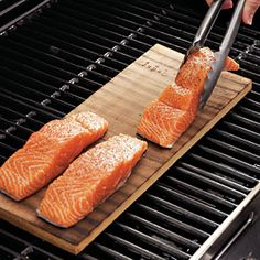 How to Plank-Grill Salmon  CookingLight.com