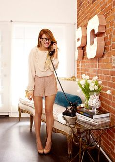 Lauren Conrad at the Paper Crown office in L.A. | StyleCaster
