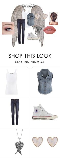 """""""#AngelLife"""" by artemis-moonlight ❤ liked on Polyvore featuring Vince, Tory Burch, Converse, Journee Collection, New Look, Lime Crime, VampireLife, Angellife, HuntingLife and DemonLife"""