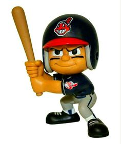 LIL TEAMMATES are the hot new collectible toy from The Party Animal. Made of Vinyl with full true colors. Lil' Teammates are not player specific, and have turab Indians Baseball, Baseball Gear, Baseball Players, Sports Figures, Action Figures, Go Browns, Star Wars, Indian Party, Team Uniforms