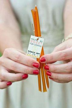 Wedding favors!! Get your Steeped Tea honey sticks here www.mysteepedtea.com/nadiacastonguay