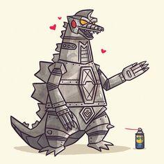 Mecha Godzilla by ~TheBeastIsBack on deviantART
