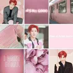 Pastel Pink Chanyeol