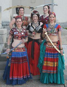 Tribal Evolution - banjara skirts