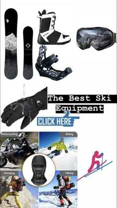 Here you find more equipment for Ski. Snowboard Packages, Ski Packages, Snowboard Gloves, Ski Equipment, Snowboarding Men, Best Skis, Ski Goggles, Ski Boots, Cross Country