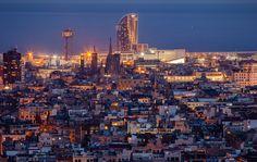 Ricardo Bofill, Taller de Arquitectura - Hotel W - Barcelona view