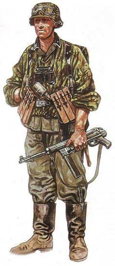 "Waffen grenadier division ""Galizien""- pin by Paolo Marzioli Ww2 Uniforms, German Uniforms, Military Uniforms, German Soldiers Ww2, German Army, Military Art, Military History, Military Divisions, Tanks"