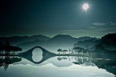 Moon Bridge,Dahu Parj,Taipei