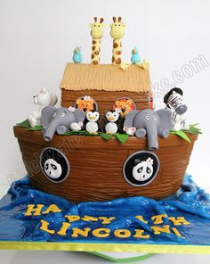 Celebrate with Cake!: Noah's Ark