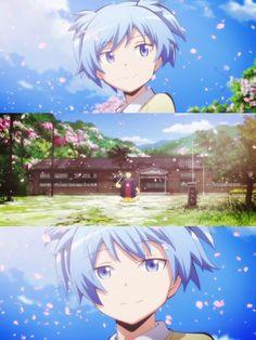 """This is not our last farewell."" - DA | Koro-sensei | Nagisa Shiota | Assassination Classroom"