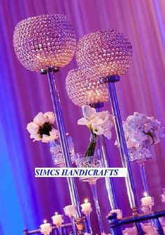 Crystal wedding centerpieces Votive Tealight Candle Lamps & Holders Table Decor